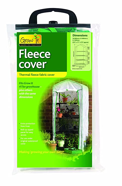 a9a8f856ef6 Image Unavailable. Image not available for. Color  Gardman 7635 Fleece  Cover for 4-Tier Mini Greenhouse