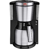 Melitta Look Therm DeLuxe termos demlikli filtre kahve makinesi, aroma toplayıcı 10 bardak Siyah 1011-14