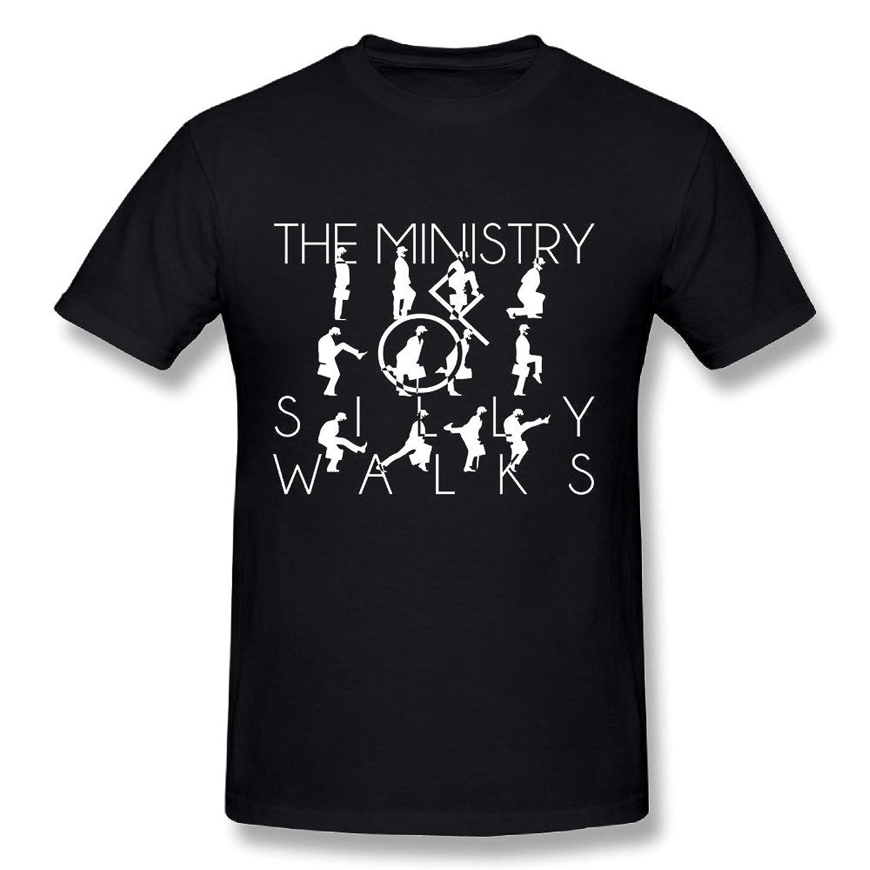 Ministry Of Silly Walks Men's Short Sleeve T-shirt Black