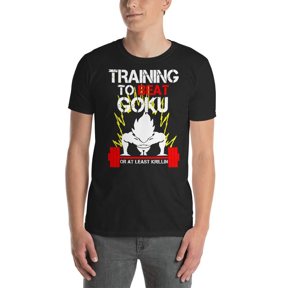 Dragon Ball Super Saiyan Vegeta god T Shirt Training to Beast Goku Shirts