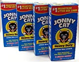 JONNY CAT Litter Box Liners - Heavy Duty - Jumbo 5 Per Box (4 Pack boxes)