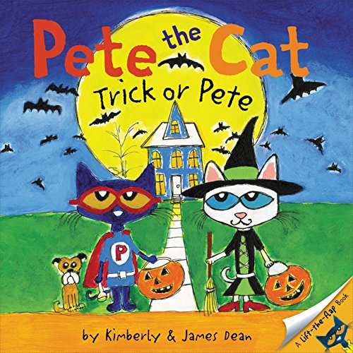 Speaking Activity About Halloween (Pete the Cat: Trick or Pete)
