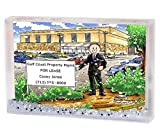 Personalized Friendly Folks Cartoon Snow Globe Frame Gift: Mall Manager - Male Great for big box store, police department, school manager