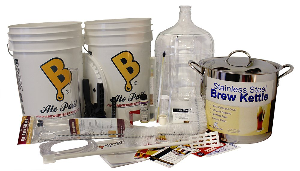 Brewer's Best Beast Equipment Kit with Glass Carboy Brewers Best Beast Beer Equipment Kit Home Brew Ohio