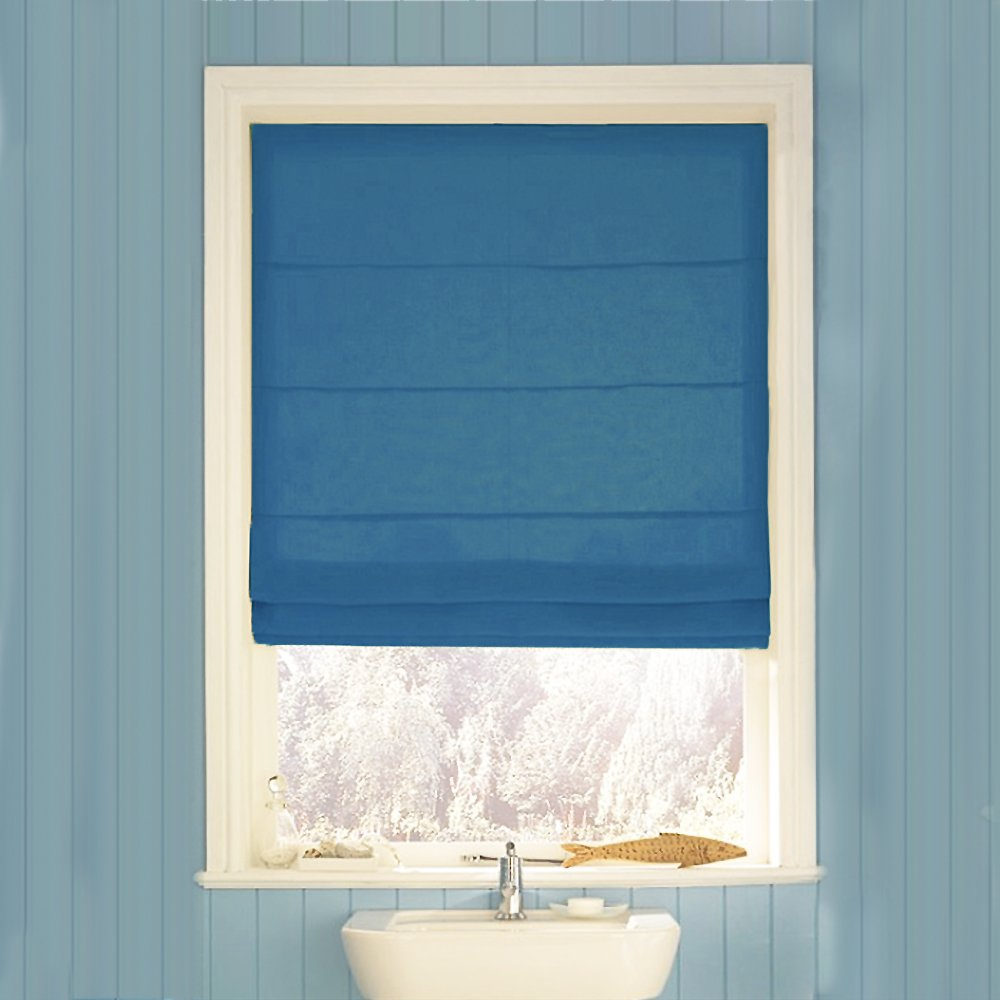 Swish Roman Blind - Navy - 150 x 160cm: Amazon.co.uk: Kitchen & Home