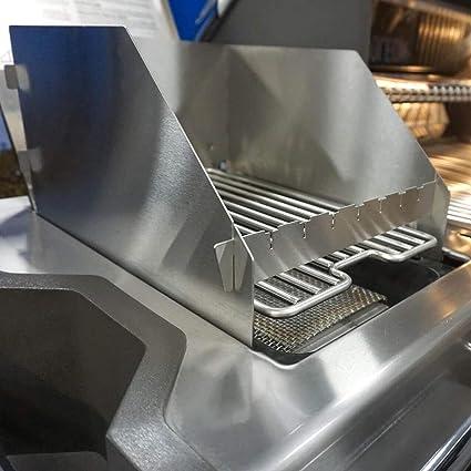 Edelstahl Ersatz-Grillrost passend f/ür die gro/ße Sizzle Zone des Napoleon LE 3 LEX Prestige P500