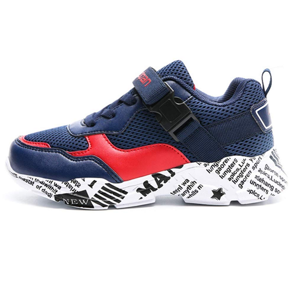 17a1b6b6 LGXH Youth Boys Girls Running Sneakers Non-Slip Cozy Big Kids Casual Sports  Walking Athletics Shoes ...