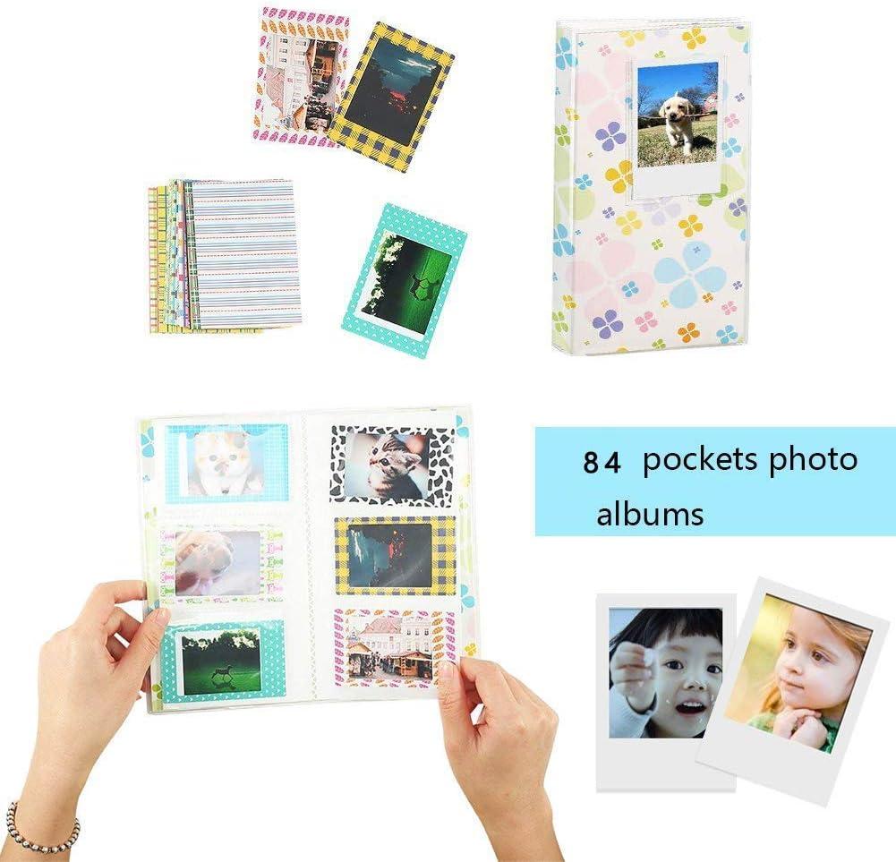 Galaxy Stickers Album Frame Includes Camera Case Strap,etc Katia Instant Camera Accessories Bundle Compatible for Fujifilm Instax Mini 9 // Mini 8+ // Mini 8 Instant Film Camera