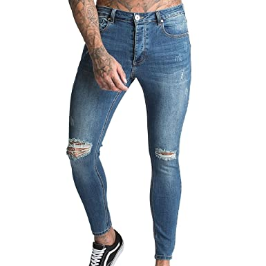 182dafe5 Kings Will Dream Lumor Skinny Distressed Jeans: Amazon.co.uk: Clothing
