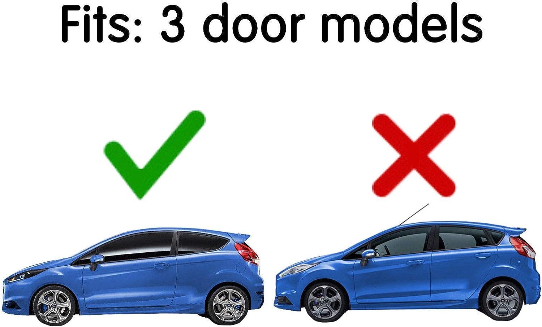 2 d/éflecteurs dair AC WOW pour Renault M/égane II 2002-2009 3 portes /à hayon en verre acrylique teint/é fum/é
