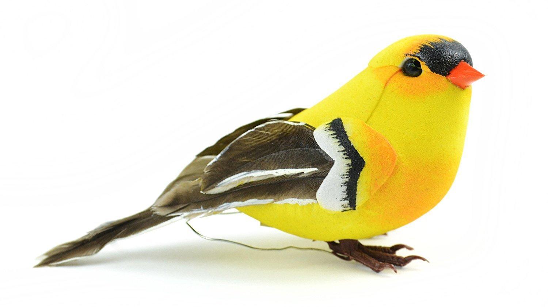 20553 American Goldfinch Bird, 4-Inch