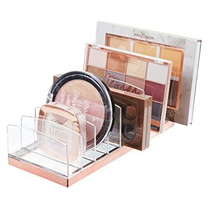 Superb Mdesign Plastic Makeup Organizer For Bathroom Countertops Vanities Cabinets Cosmetics Storage Solution For Eyeshadow Palettes Contour Kits Complete Home Design Collection Papxelindsey Bellcom