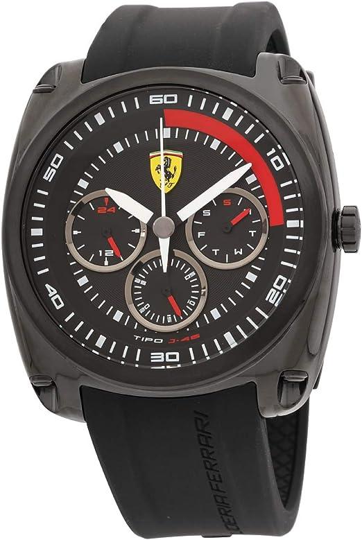 Watch Scuderia Ferrari Chrono Type J 46 Cronograph 0830320 Amazon De Uhren
