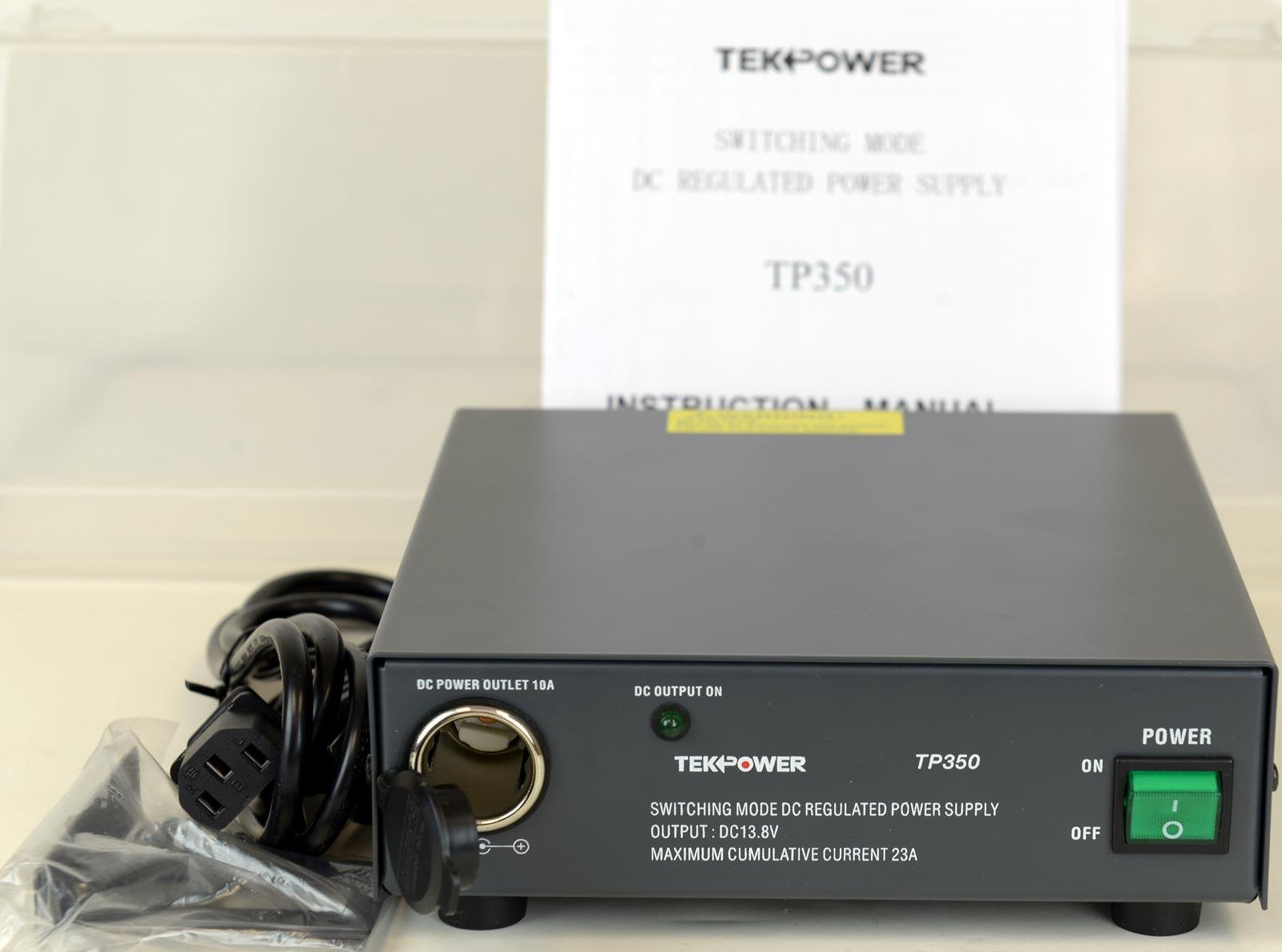 TekPower TP350 23 Amp DC 13.8V Switching Power Supply with Cigarette Plug by Tekpower (Image #4)