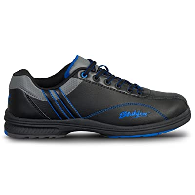 KR Strikeforce Mens Raptor Performance Bowling Shoes- Right Hand Black/Royal Wide | Bowling
