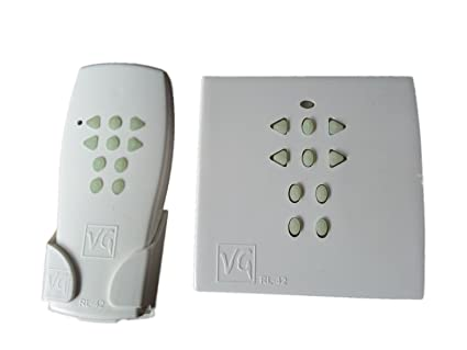 Unknown VG RF Remote Switch VG RL-42 4 Lights + 2 Fan/Dimmer With 7 Steps Regulation Switches & Dimmers at amazon