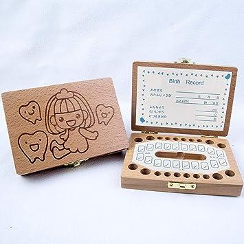 OrchidAmor 2019 - Caja de madera para guardar dientes, diseño de ...