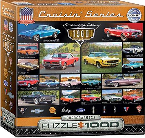 EuroGraphics 1960s Cruisin' Classics Jigsaw Puzzle (Small Box) (8000 Jigsaw Puzzle)