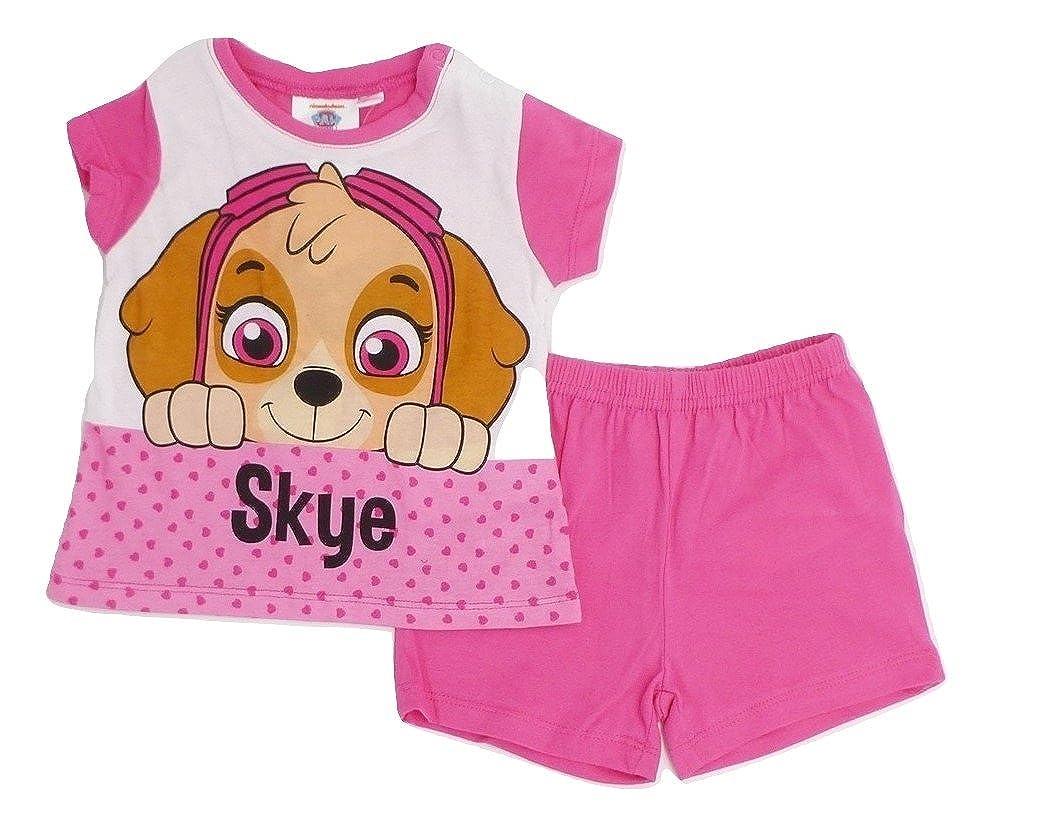 Paw Patrol Everest Schlafanzug f/ür Kinder M/ädchen 9-24 Monate