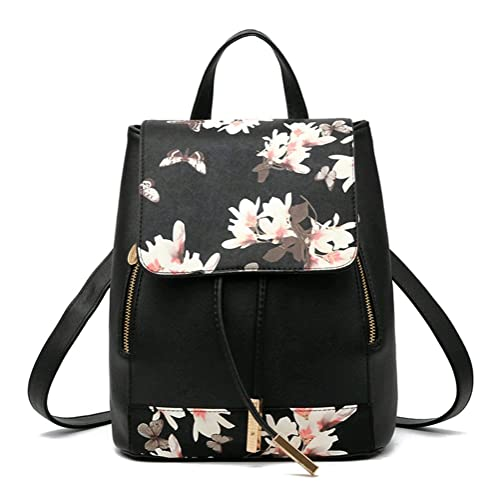 Amazon.com  NAGU PU Leather Backpack f08556f27a58e
