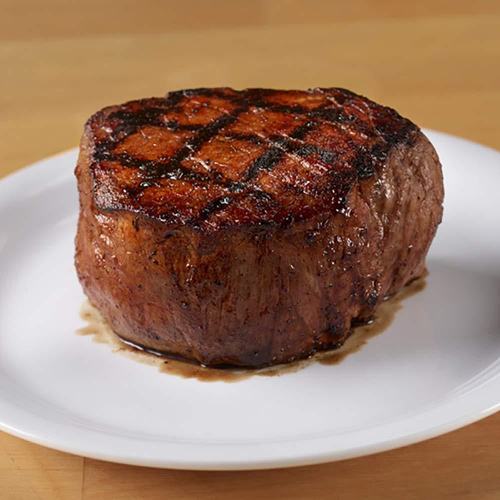 4 (6 oz.) Filet Steaks + Seasoning from the Texas Roadhouse Butcher Shop