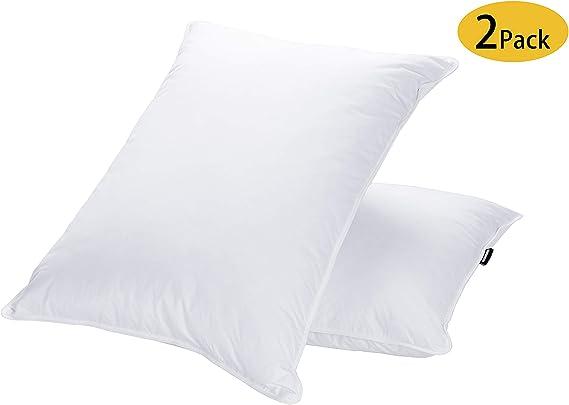 Sleep Twin Pack Gusseted Medium Standard Pillows 66 x 41 x 5 Made in Australia