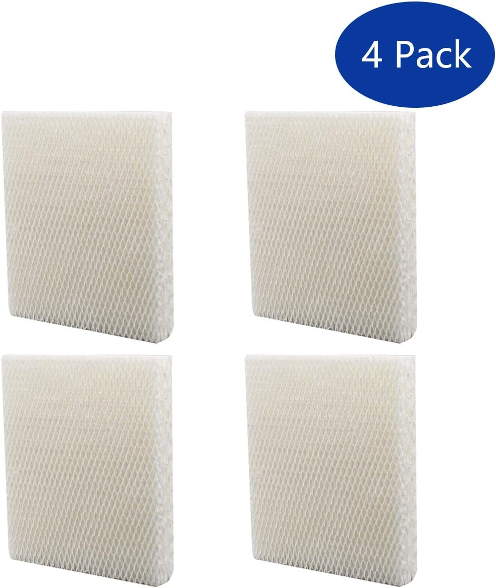 ApplianPar 4 Pack Replacement Humidifier Filter T for Honeywell HEV615 HEV620 Humidifier Wicks HFT600 HFT600PDQ