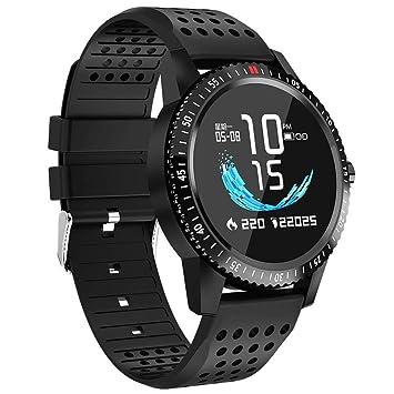 LLLS SmartWatch, Relojes Elegantes para los Hombres para Las Mujeres, Deportes Pulsera Ritmo cardíaco Pasos de natación Hombres y Mujeres Reloj Inteligente: ...