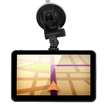 XGODY 5 Inch portátil coche navegación GPS SAT NAV pantalla táctil integrado 8 GB 128 MB