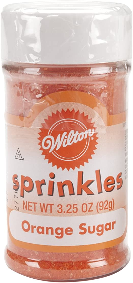 710-759 Orange Wilton Sprinkles Colored Sugar