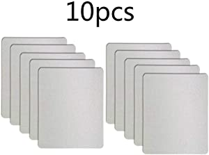 10 PCS Waveguide Cover, Universal Mica Sheet for Microwave Oven, Free Cutting According to The Required Size, 150X120mm, 10 Pack