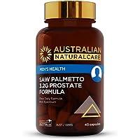 Australian NaturalCare - Men's Health - Saw Palmetto 3.2g Prostate Formula Capsules (45 Count)