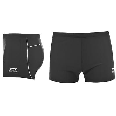 New Slazenger Mens Black Swim Shorts