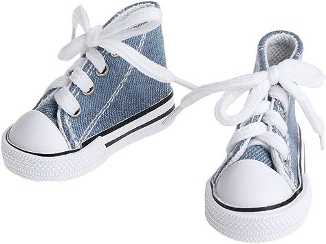 1//6  Doll Fashion Mini Toy 5cm Canvas Shoes Sneaker  DollShoesAccessori Al