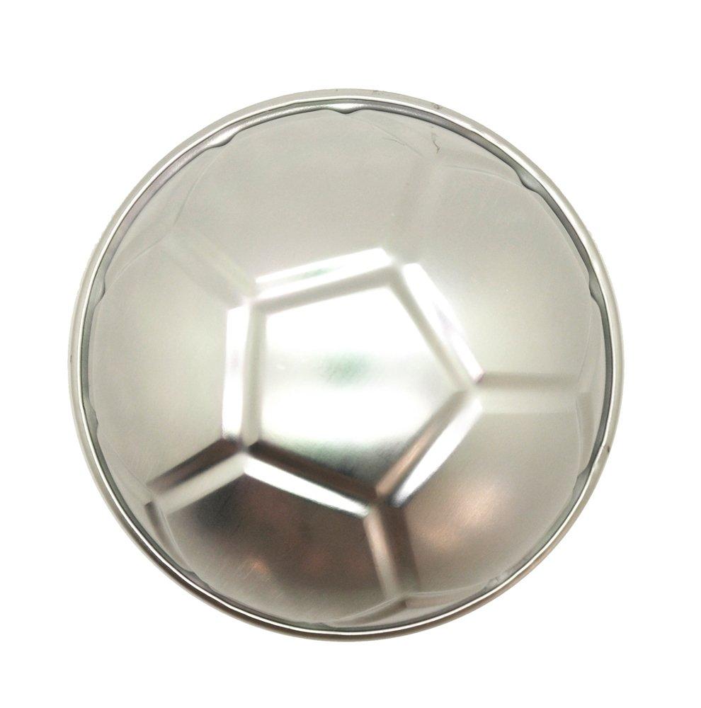 DeColorDulce Balón de Futbol Molde, Aluminio Anodizado, Blanco ...