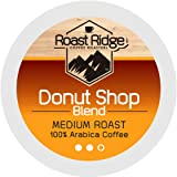 Roast Ridge Single Serve Coffee Pods Compatible with Keurig K-Cup Coffee Brewers, Donut Shop 100 Ct.