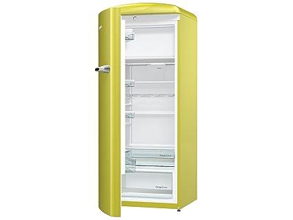 Gorenje Kühlschrank Kaufen : Gorenje orb ap l kühlschrank gelb amazon elektro großgeräte