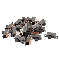 uxcell 20 Pcs 6 Pins 2 Positions DPDT On/On Mini Slide Switch 22F 32G5 DC50V1A