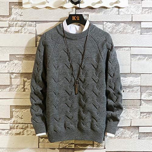 セーター メンズ ニット ハイネック 無地 ゆったり 秋冬 防寒 通勤 通学 大きいサイズ トレーナー メンズ セーター 丸首 カーディガン グレー ビジネス 厚手 セーター 学生 メンズ グレー ウール 白
