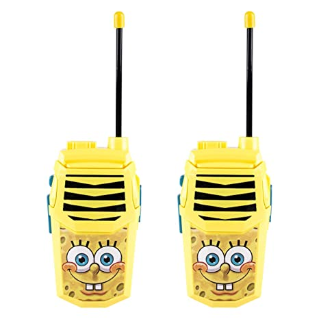 SpongeBob SquarePants WT3-01062 Spongebob Night Action Walkie Talkie