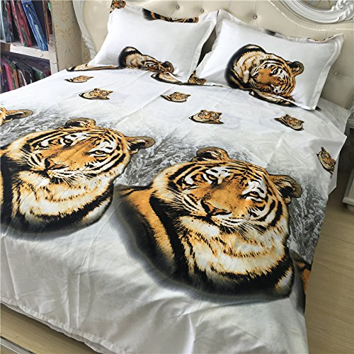 EsyDream 3D Oil Painting Animal Tiger Print  Bedding Set you can buy for Boys on their Birthdays as a  Gift and this is the best Gift for any Boy in your family.