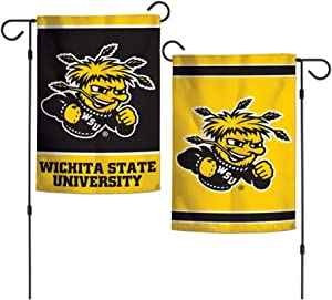 "NCAA Wichita State University Shockers 12.5"" x 18"" Inch 2-Sided Garden Flag Logo"