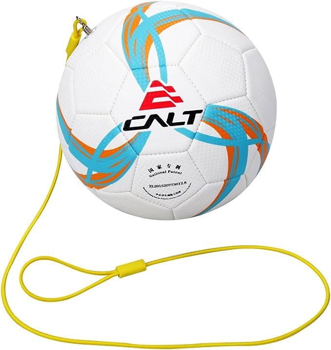 Calt Football Kick Trainer Solo - Pelota de Fútbol Tamaño 3 con ...