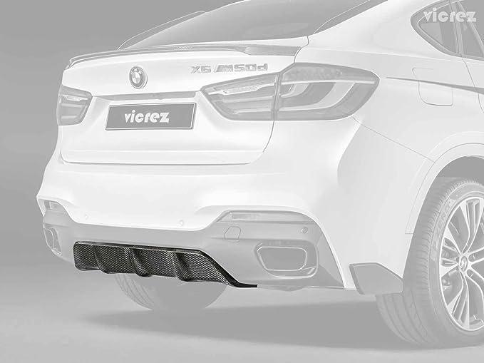 Vicrez BMW M4 F82 F83// M3 F80 2014-2019 VZ1 Carbon Fiber Rear Diffuser vz100425