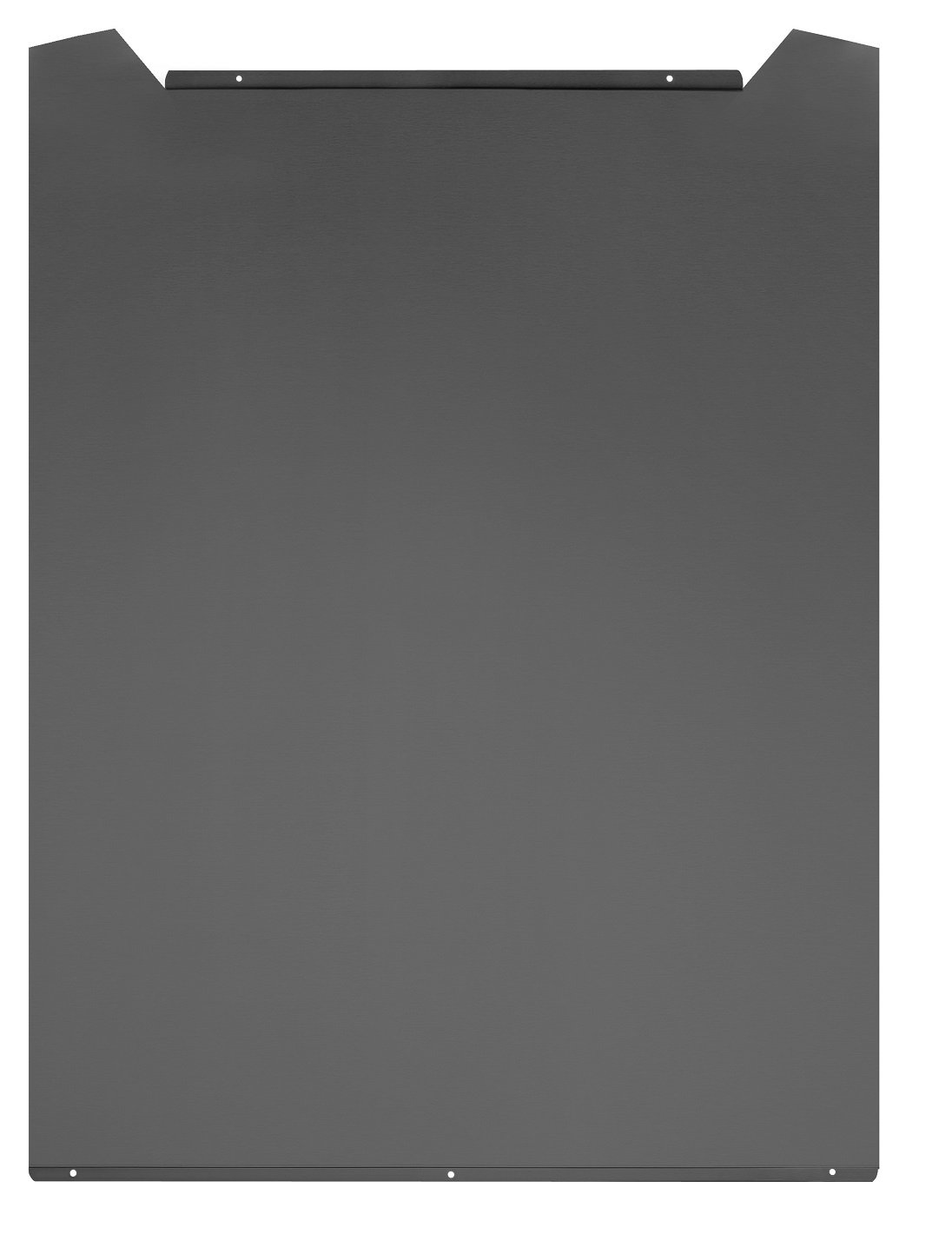 Cookology SBC600BK Curved Steel Splashback to fit 60cm Curved Glass Hood in Black