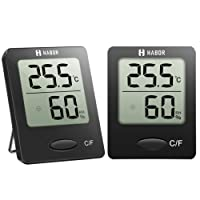Habor Mini Digitales Thermo Hygrometer