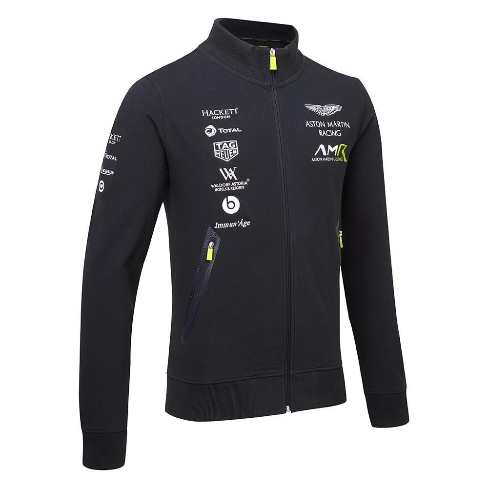 Aston Martin - 2018 Racing Team - Sudadera con Cremallera Completa ...