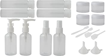 praise (プレイズ) 小分けボトル 小分け容器 海外 旅行出張セット便利なプラスチック容器