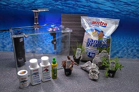 Wave caja Orion 30 Nano Acuario Incluye Decoración Completo Sistema de filtro de acuario