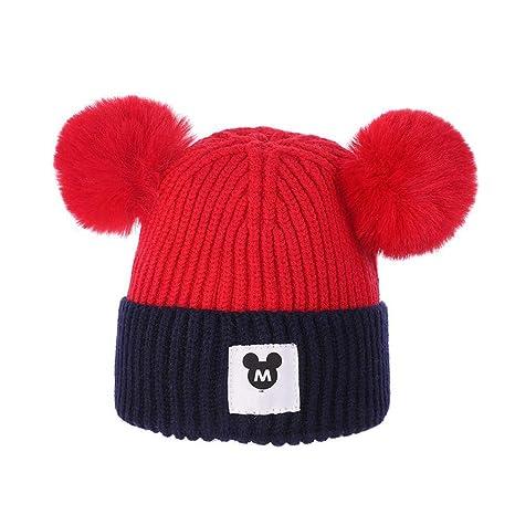 Amazon.com  Myzixuan Children s Hats Baby Cap Winter Thickening ... f7c96391e25
